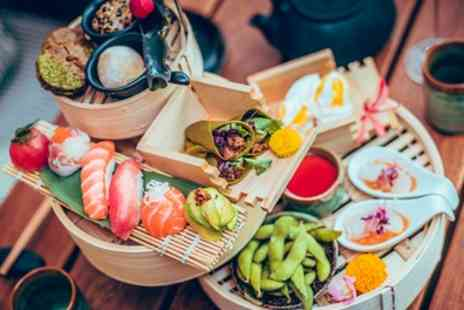 Nozomi Birmingham - Japanese Inspired Afternoon Tea for Two - Save 50%