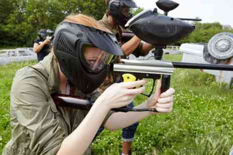 Hull Paintball - Three Hour Paintball Session with 100 Paintballs Each for Up to 20 - Save 90%