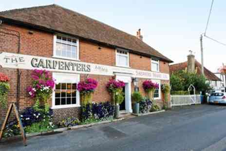 Carpenters Arms - Kent Downs meal with coffee for two - Save 46%