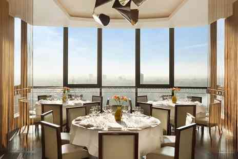 Galvin at Windows - Michelin starred 3 course meal & drink with London views - Save 0%