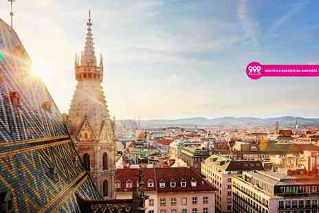 Great Pacific Travels - Two or three night stay in Prague, Vienna and Bratislava with breakfast, transfers and return flights - Save 25%