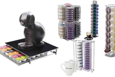 Groupon Goods Global GmbH - Coffee Pod Stand for Dolce Gusto, Tassimo or Nespresso Pods - Save 70%
