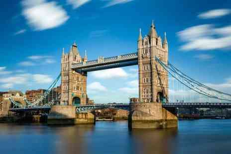 City Cruises - All day childs or adult ticket to hop on hop off London sightseeing River Red Rover cruise - Save 68%