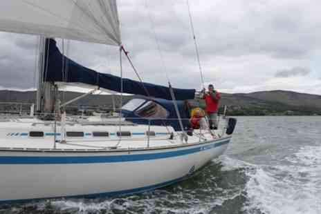 East Coast Adventure - Yacht Adventure for Six Around Carlingford Lough - Save 27%