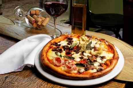 Hop Yard Brewing Co - Pizza and Wine for Two or Four - Save 64%