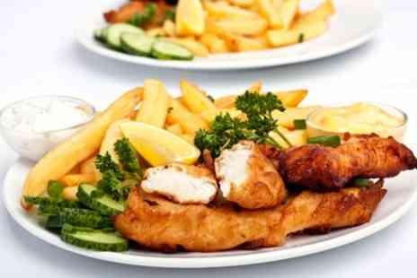 New Cod on the Block - Takeaway Fish and Chips Meal for Up to Four - Save 40%