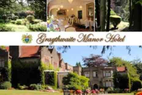 Graythwaite Manor - In Lake District Two Night Hotel Stay For Two With Cooked Breakfast and Cream Tea - Save 64%