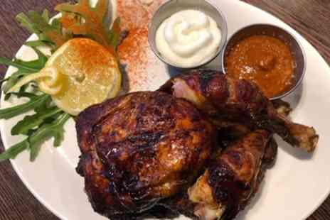 Al Basha - Rotisserie Chicken Meal with Prosecco for Two or Four - Save 69%