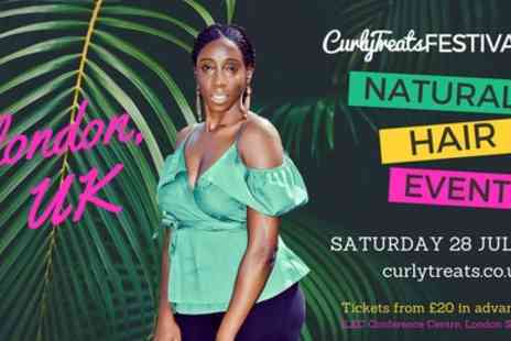 Curly Treats Natural Hair Festival - Ticket to Curly Treats Natural Hair Festival on 28 July - Save 54%