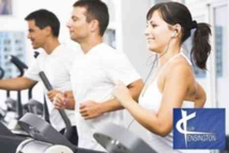 Club Kensington Gym - Ten Passes For Gym, Fitness Classes, and Sunbeds - Save 88%