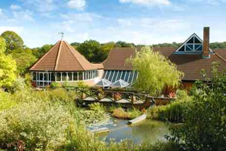 Donnington Valley Hotel and Spa - Berkshire stay with 2 AA Rosette dinner & wine - Save 0%