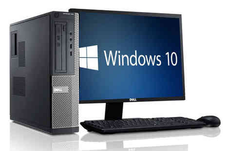 The IT Refurbisher - Refurbished 4GB RAM 250GB HDD Dell OptiPlex 960 with 22 inch monitor, keyboard and mouse - Save 66%