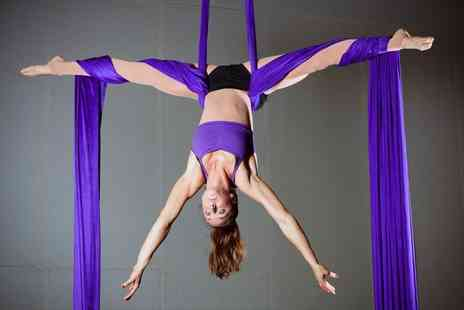Cloud Aerial Arts - One hour aerial fitness classes choose from three locations - Save 70%