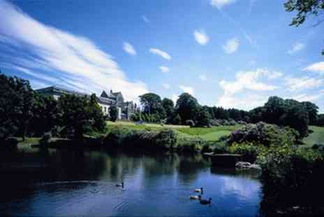 Shrigley Hall Hotel - 18 Holes of Golf and Refreshments for Up to Four - Save 45%