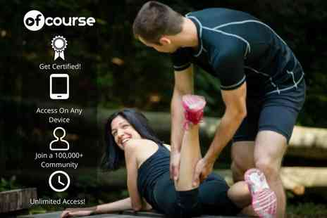 OfCourse - Online deep tissue sports massage diploma - Save 82%