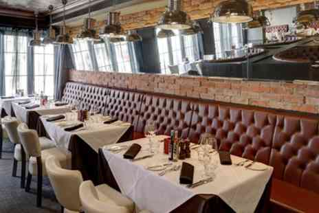 Marcos New York Italian - Two Course Lunch with Optional Wine for Two - Save 56%