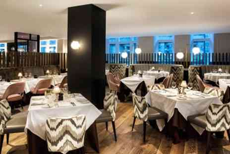 Marco Pierre White Steakhouse Bar & Grill - Two Course Dinner with Glass of Wine Each for Two - Save 33%