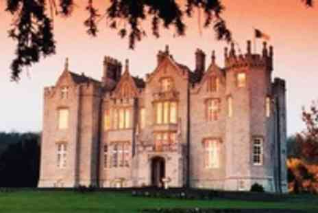 Kinnitty Castle Hotel - In Offaly 2 Night Romantic Castle break for 2 with Castle Tour - Save 50%