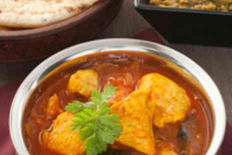 Shapla - Two Course Indian Meal for Two with Wine - Save 54%