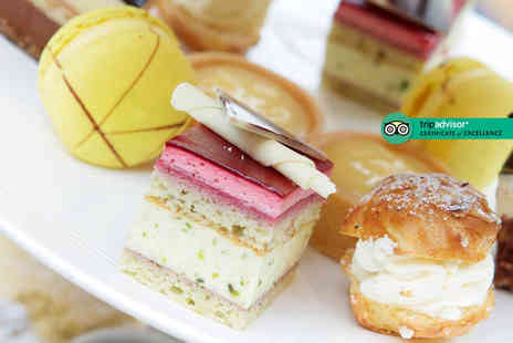 The Mere Golf & Country Club - Afternoon tea for two or include a glass of Prosecco each or glass of Champagne - Save 45%