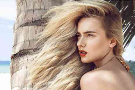 Lumins Studio - Cut, blow dry and a half head of highlights or a full head of colour - Save 75%