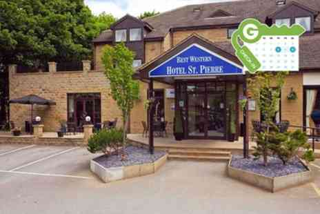 Best Western Hotels - Standard Double Room for Two with Breakfast and Option for Wine or Dinner - Save 32%