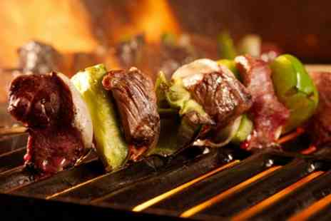 Rodizio Rico O2 - All You Can Eat Brazilian Barbeque with Caipirinha Cocktail for One - Save 41%