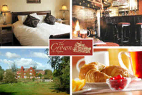 The Crown - One Night for 2 including brekkie in Shropshire - Save 66%