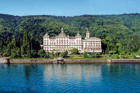 Grand Hotel Des Iles Borromees - 5* Stay for Two at a Luxury Lakeside Spa Hotel - Save 68%