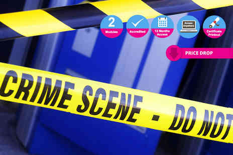 International Open Academy - Online forensic science course or criminology and profiling course or both - Save 90%