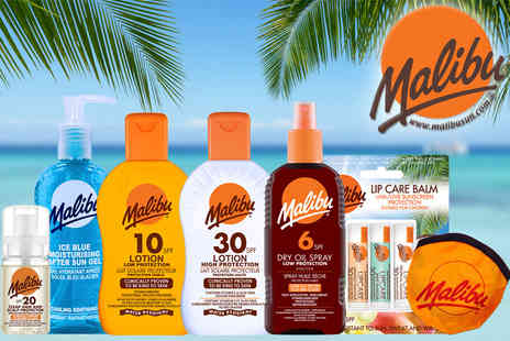 Malibu Health Products - Family holiday collection get six sun skincare products - Save 51%