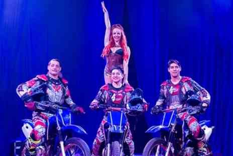 Russells International Circus - Ticket to Russells International Circus on 5 to 8 July - Save 70%