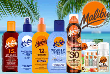 Malibu Health Products - Family holiday collection get seven sun skincare products - Save 44%