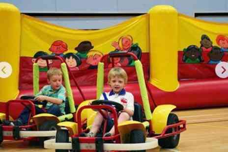 Kiddi Karts - 60 or 90 Minute Kiddi Karts Party with Venue Hire For Up to 20 - Save 43%