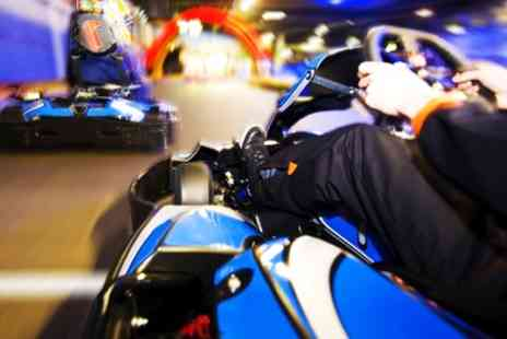 Teamworks Karting - One Hour vRacing Simulator Party for Up to 30 Players - Save 57%