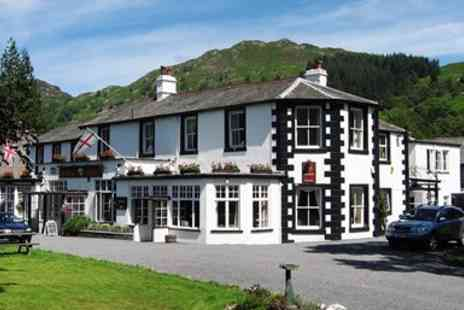 Scafell Hotel - Two night Lake District stay with 3 course dinner - Save 27%