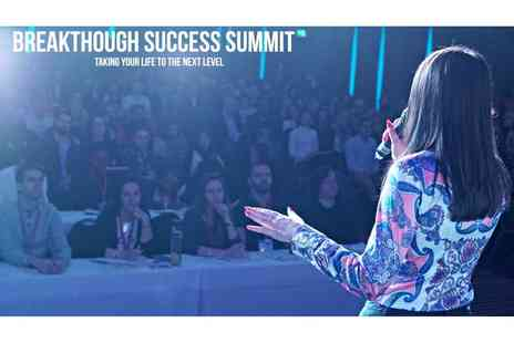 Champion Academy - Two day entry to the Breakthrough Success Summit at the Ibis Hotel Earls Court on the 14th to 15th July 2018 - Save 91%