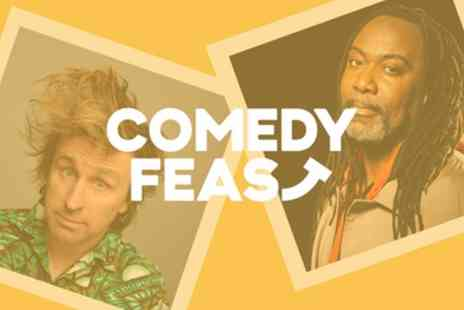 Comedy Feast - One Ticket to Milton Jones and Reginald D. Hunter on 8 June - Save 32%