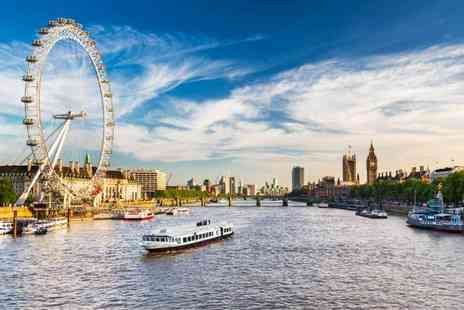 OMGhotels - Overnight stay in a 3 Star hotel with breakfast and tickets to the London Eye and a River Thames cruise - Save 0%