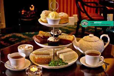 The Leonard Hotel - Afternoon tea for two or Royal afternoon tea for two including Champagne and mini desserts - Save 44%