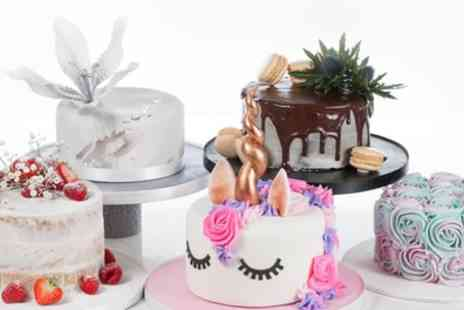 3D Cakes - Small, Medium or Large Celebration Cake - Save 77%