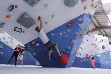 Climbing Project - One Hour Climbing Class for One or Two with Three Adult Passes or for Up to Six - Save 57%