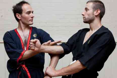 Wing Tsun London - Two Kung Fu Self Defence Classes for One or Five Classes for One or Two - Save 83%