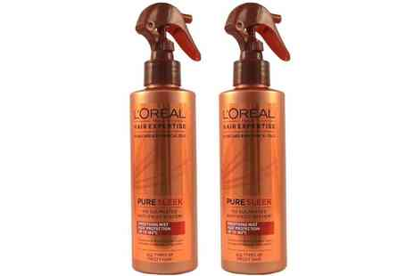 Groupon Goods Global GmbH - Two or Four LOreal Hair Moisturising Sprays 200ml - Save 0%
