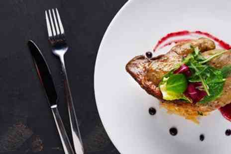 Fredericks Restaurant - Two course meal & bubbly for 2 - Save 49%