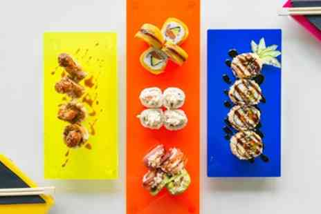 Tropical Sushi - Verde or Amazonas Sushi Platter with Choice of Dessert to Take Away for Two - Save 44%