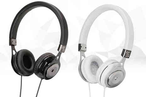 eOutlet - Pair of Scosche over ear headphones choose from two colours - Save 57%