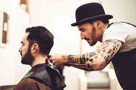 Jackie and Co Kilburn - Mens Wash, Cut and Choice of Style or Hot Towel Shave - Save 33%