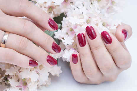 Luxe Hair, Nails & Beauty - Shellac manicure - Save 60%
