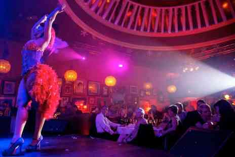 Proud Cabaret - Three course dining, a glass of Prosecco, an award winning cabaret show and after party entry - Save 52%